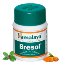 Himalaya Bresol Tablets - Breathing solution, respiratory allergies - 60... - $9.99