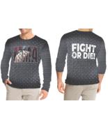 MMA Fight Or Die Long Sleeve T-shirt Fullprint For Men - $26.99