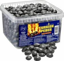 TYRKISK PEBER (Turkish Pepper) candy 2.2kg Extra Hot looseweight FAZER Finland - $59.21