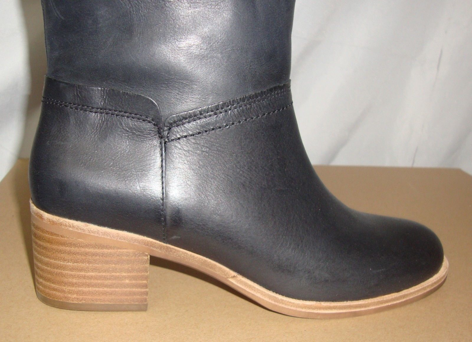 471b893bffad UGG CARLIN Black Tall Leather Boots Women s and 50 similar items