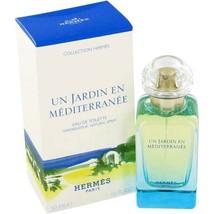 Hermes Un Jardin En Mediterranee 1.7 Oz Eau De Toilette Spray image 2
