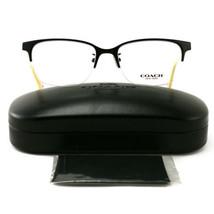 COACH 5047 9160 Eyeglasses Black/Ivory Horn 52 17 135 without case finish line - $59.00