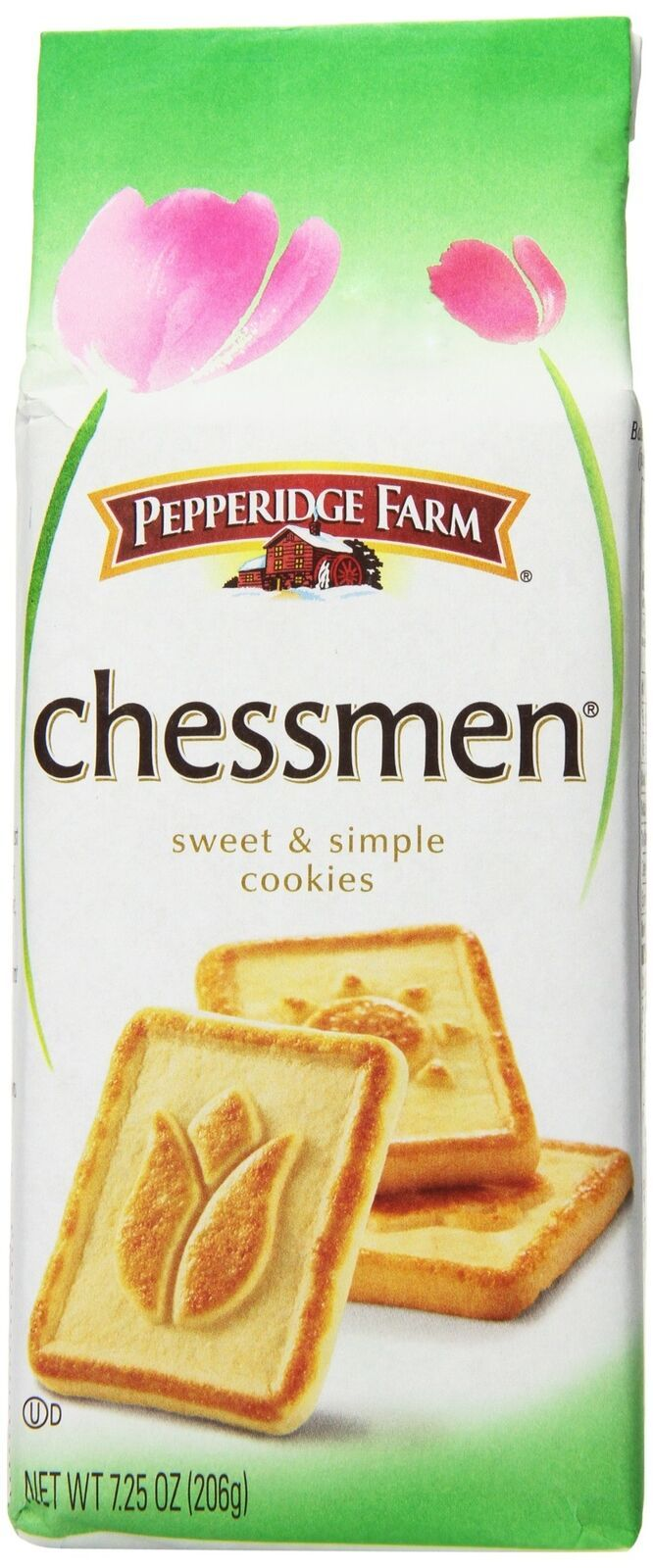 Pepperidge Farm Chessmen Cookies, 7.25 Ounce (Pack of 24)