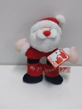Gund My 1st Christmas Santa Plush Rattle Baby Infant - $11.75