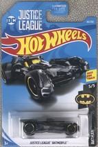 Hot Wheels 2019 Justice League Batmobile #5/5 Batman 66/250 - MIP - $2.95