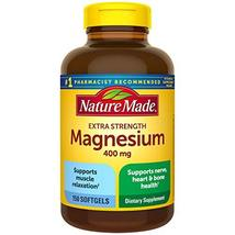 Nature Made High Potency Magnesium 400 mg - 150 Liquid Softgels,(Pack of 2) - $39.99