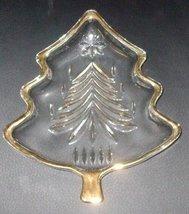 "Mikasa Yuletide Tree Gold 5"" Sweet Dish WY156/503 - $9.89"