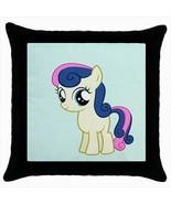 Throw pillow case pony small horse cute kawaii childish baby room - $19.50