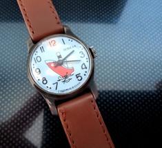 Vintage POBEDA watch SHIP steamship wristwatch soviet clock rare mechani... - $39.99