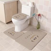 Hot Sale Gucci505 Toilet Set Anti Slip Good For Decoration Your Bathroom  - $20.09