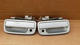 95-04 Toyota Tacoma Front Exterior Outside Door Handle Pair Set Left Right L&R image 1