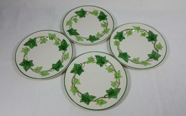 Vintage Franciscan Ivy Earthenware Four (4) Bread and Butter Plates USA Made - $31.99