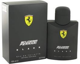 Ferrari Scuderia Black Cologne 4.2 Oz Eau De Toilette Spray image 3