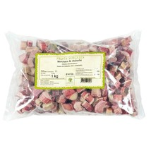 Rhubarb, IQF, Pieces, Frozen - 5 bags - 2.2 lbs ea - $115.13