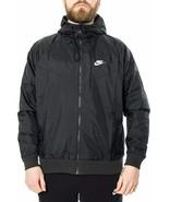 NIKE WINDRUNNER JACKET BLACK AR2191-010 MEN'S SIZE XL NEW NWT - $93.49