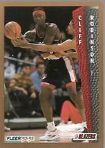 1992-93 FLEER NBA-#191-Cliff Robinson-Trailblazers-Forward - $3.94
