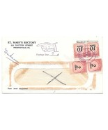 Non Profit Cover Pointing Finger Auxiliary Return To Writer Postage Due ... - €13,21 EUR