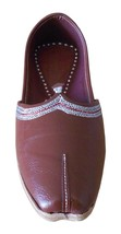 Men Shoes Indian Handmade Traditional Casual Espadrilles Leather Jutties US 9.5  - $39.99