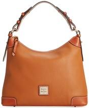 Dooney & Bourke Pebble Grain Leather Hobo,Caramel - $282.24