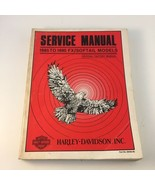 Harley-Davidson Service Manual 1985 to 1990 FX/Softail Models MISSING ELECTRONIC - $24.74