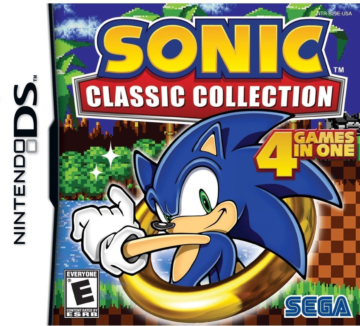 Sonic Classic Collection Nintendo DS Video Game Cartridge Only