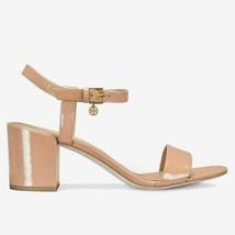 Tory Burch Women Slingback Sandals Laurel 65MM Size US 10M Makeup Naplak Leather - $199.94