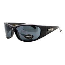 Choppers Sunglasses Mens Oval Rectangular Wrap Around Biker Shades - $9.95