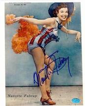 Nanette Fabray autographed 8x10 photo Image #3 - $55.00