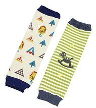Baby Socks Baby Leggings Comfy Leg Guards,0-3 Yrs,2 Sets (Random Style)