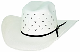 Bullhide PBR Something Magical 100X Shantung Panama Straw Cowboy Hat Nat... - $85.00