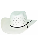 Bullhide PBR Something Magical 100X Shantung Panama Straw Cowboy Hat Nat... - £80.15 GBP