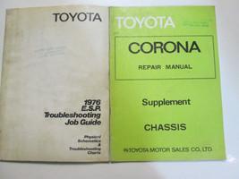 1976 Toyota ESR Troubleshooting Job Guide Set Factory Books OEM Used - $17.77