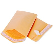 "200# 8x10"" Yellow Kraft Bubble Mailers Padded Envelopes PERFECTIOUS (Pac... - $48.37"