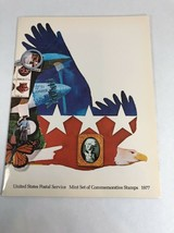 1977 Mint Set Commemorative USPS Souvenir Yearbook Album with Stamps - $11.87