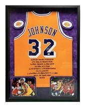 MAGIC JOHNSON SIGNED LAKERS JERSEY FRAMED #D32/32 JSA COA AUTOGRAPH LAKERS - $2,974.15