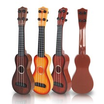 Small Guitar For Begginers Kids Early Learning Music Instrument Toy Ukulele - $7.99