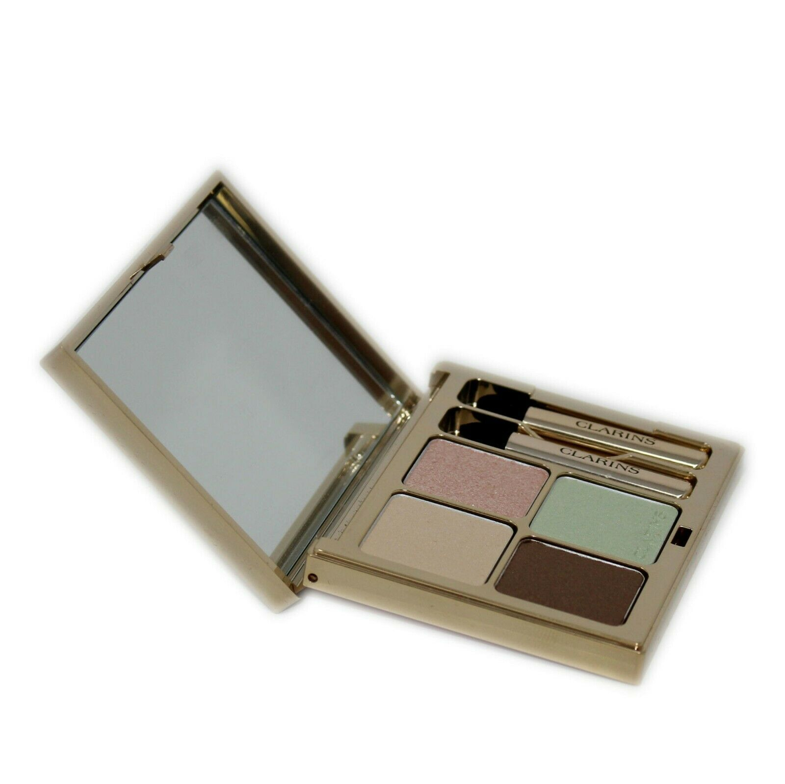 Primary image for CLARINS OMBRE MINERALE 4 COULEURS EYE QUARTET MINERAL PALETTE 5.8G #01-PASTELS