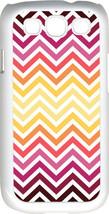 Chevron Multi Red Designed Samsung Galaxy S3 Case Cover - $13.95