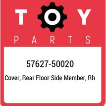 57627-50020 Toyota Cover, rear floor side member, rh 5762750020, New Gen... - $163.66