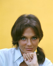 Jacqueline Bisset 1960'S Head And Shoulders Studio Portrait In White Shi... - $69.99