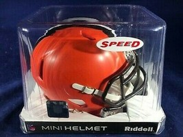 Cleveland Browns NFL Speed Mini Helmet by Riddell NIB Dawg Pound Football - $44.54