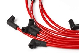 8.0mm Red Silicone Spark Plug Wires V6 V8 For Chevy Chevrolet GMC 4.3L 5.0L 5.7L image 2