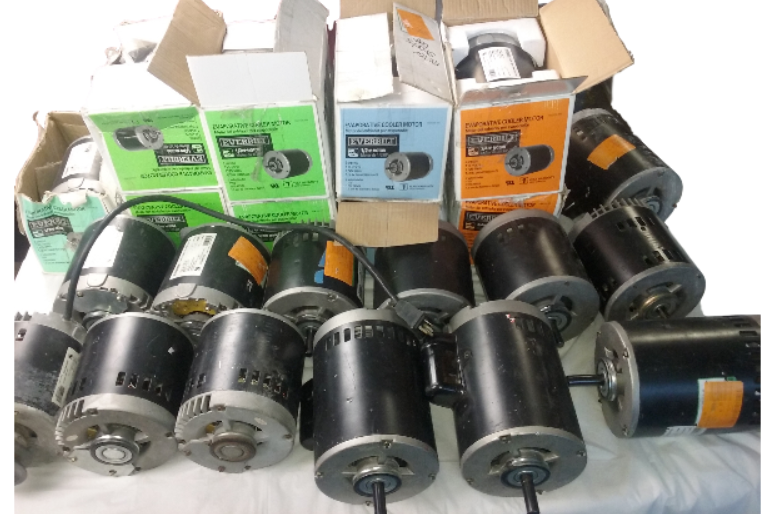 Everbilt 2 Speed Motor Lot Of 22 A250, A370, A550, A750 Untested Parts Only