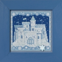 Ice Castle 2017 Winter Series Buttons and Beads cross stitch kit  Mill Hil - $12.60