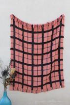 Beautiful Cotton Handmade Throw Blanket, Boho Chick Blanket, Decorative ... - €53,47 EUR