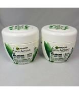 2 Garnier SkinActive Balancing 3 in 1 Face Moisturizer Mask Green Tea 6.... - $18.76