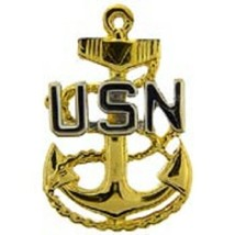 US Navy Chief Petty Officer BAS Pin - $7.91