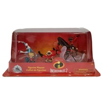 Disney Pixar Incredibles 2, 6 Piece Collectible Figurine Playset - $13.63