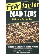 Fear Factor Mad Libs: Ultimate Gross Out! - Never Used - $3.00