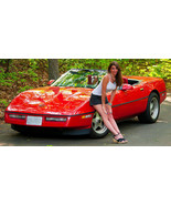 1986 Chevrolet Corvette Convertible Comm. Pace Car - $11,000.00